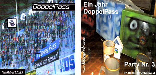 Frühe DoppelPass-Party-CDs