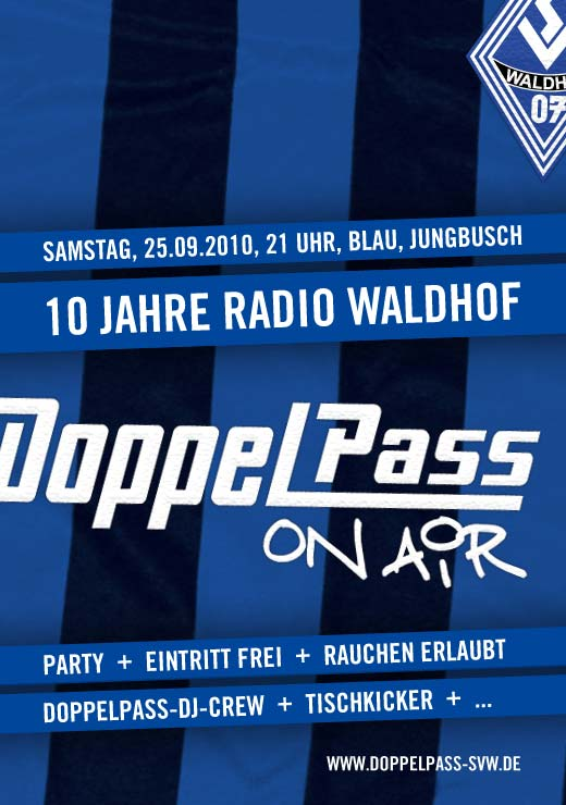 "Party: 10 Jahre ""DoppelPass on Air"""