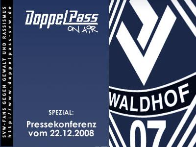 """DoppelPass - """"DoppelPass on Air""""-Spezial: Pressekonferenz ..."""