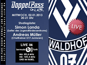 DoppelPass on Air: Studiogäste Simon Landa und Andreas Müller