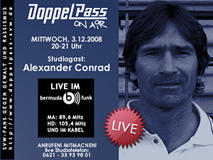 DoppelPass on Air: Studiogast Alexander Conrad