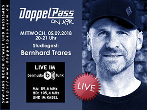 DoppelPass on Air: Studiogast Bernhard Trares