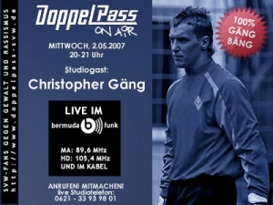 DoppelPass on Air: Studiogast Christopher Gäng