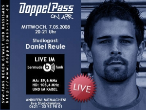 DoppelPass on Air: Studiogast Daniel Reule