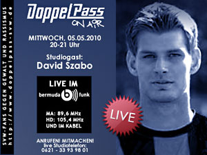 DoppelPass on Air: Studiogast David Szabo