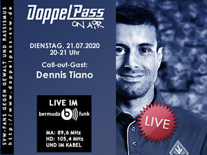 DoppelPass on Air: Call-out-Gast Dennis Tiano