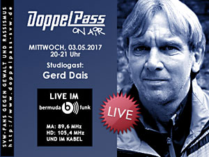 DoppelPass on Air: Studiogast Gerd Dais