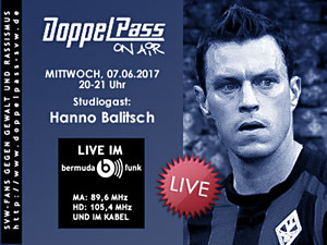DoppelPass on Air: Studiogast Hanno Balitsch