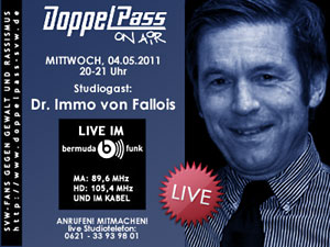 DoppelPass on Air: Studiogast Immo von Fallois
