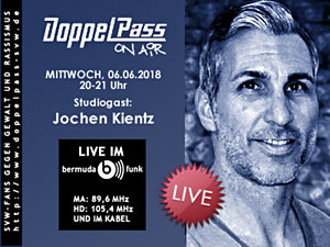 DoppelPass on Air: Studiogast Jochen Kientz