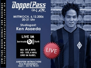 DoppelPass on Air: Studiogast Ken Asaeda
