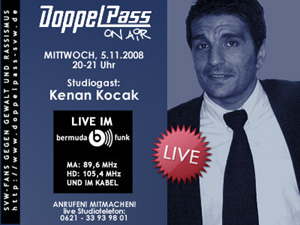 DoppelPass on Air: Studiogast Kenan Kocak