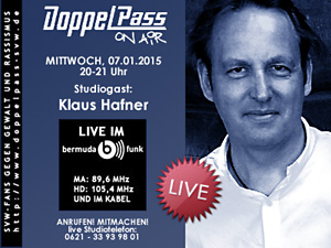 DoppelPass on Air: Studiogast Klaus Hafner