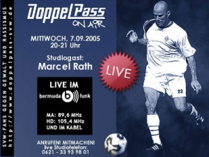 DoppelPass on Air: Studiogast Marcel Rath