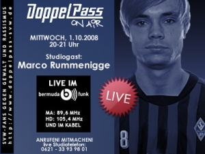 DoppelPass on Air: Studiogast Marco Rummenigge