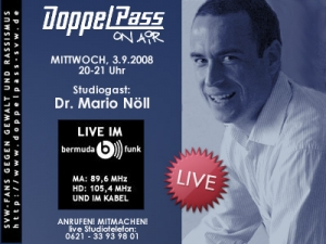 DoppelPass on Air: Studiogast Mario Nöll