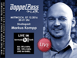 DoppelPass on Air: Studiogast Markus Kompp