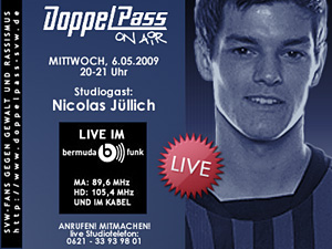 DoppelPass on Air: Studiogast Nicolas Jüllich
