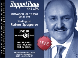 DoppelPass on Air: Studiogast Rainer Spagerer