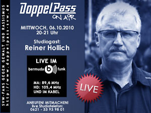 DoppelPass on Air: Studiogast Reiner Hollich
