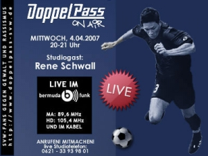 DoppelPass on Air: Studiogast Rene Schwall