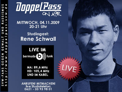 """DoppelPass - Rene Schwall bei """"DoppelPass on Air"""""""