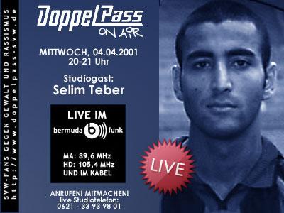 """DoppelPass - Selim Teber bei """"DoppelPass on Air"""""""