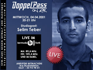 DoppelPass on Air: Studiogast Selim Teber