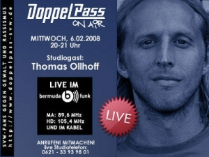 DoppelPass on Air: Studiogast Thomas Ollhoff