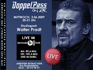 DoppelPass on Air: Studiogast Walter Pradt